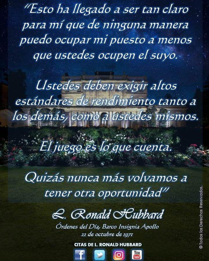 Citas De Mr Hubbard On Twitter Citadeldia Scientology