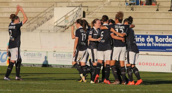 Nouvelle défaite à domicile pour les Girondines, qui restent relégables en D1F