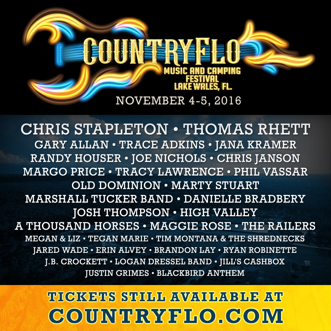 Jana Kramer on Twitter  Canu0027t wait to be at the first ever @CountryFlo Festival this weekend in Lake Wales FL! See u @ Triple Canopy Ranch ...  sc 1 st  Twitter & Jana Kramer on Twitter: