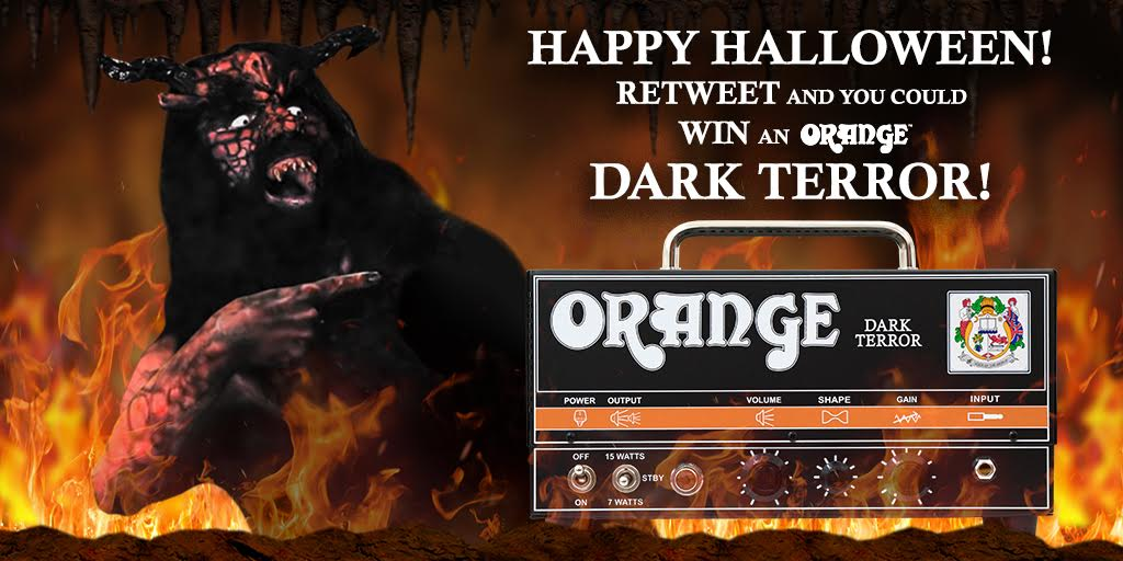 RETWEET TO WIN a #DarkTerror in celebration of Halloween!!! Winner announced tomorrow! #OrangeDarkSeries https://t.co/fD8fcS5mau
