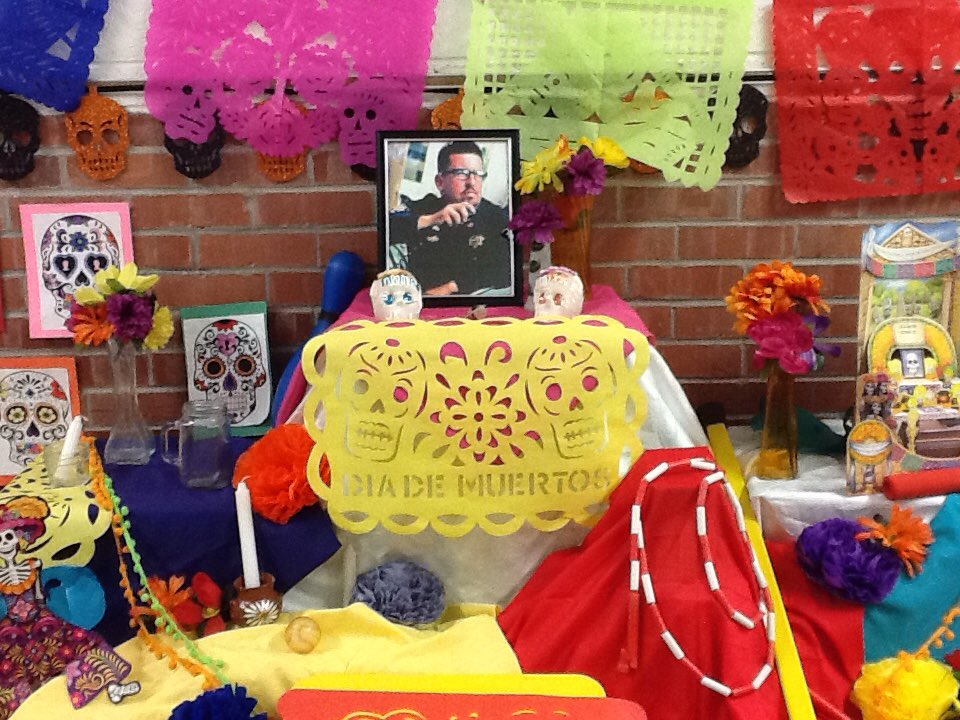#Iamepisd, @PutnamFalcons , Putnam Staff celebrates beloved Coach White's life. https://t.co/VpDUSiw5ey