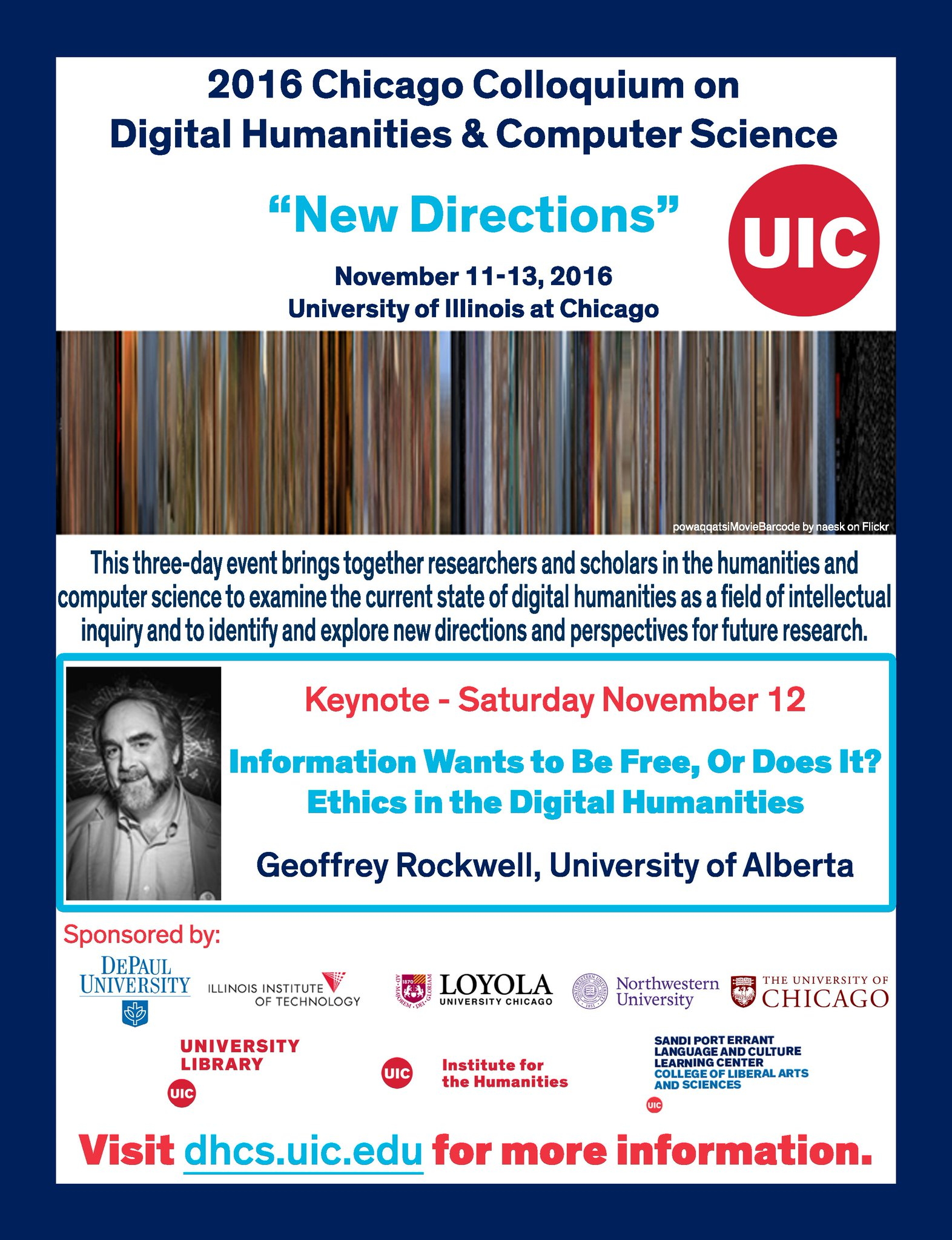 Chicago Colloquium on Dig. Humanities & Comp. Sci. Nov 11-13 w/ keynote by @GeoffRockwell! https://t.co/qqIkwTcCjI #DH #digitalhumanities https://t.co/bhtbCRtFHM