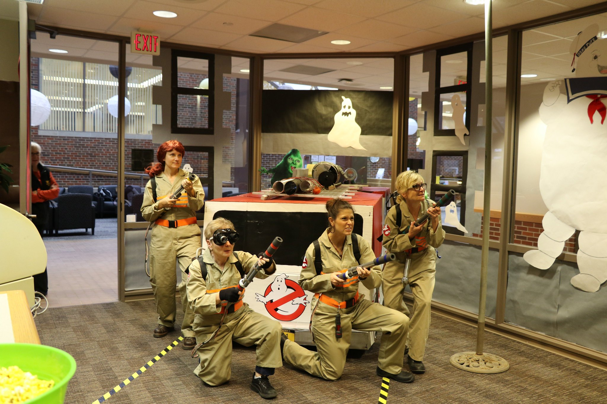 Wayne State's Career Services staff...winning Halloween since, like, forever. https://t.co/dvsGYdvQwl