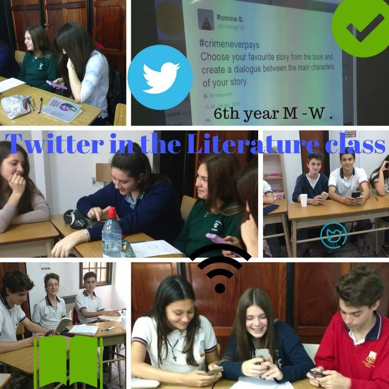 6th year M-W Twitter in the Literature class #LetsMakeItMemorable @rominag712 @yorkingles https://t.co/IbxLckgU0w