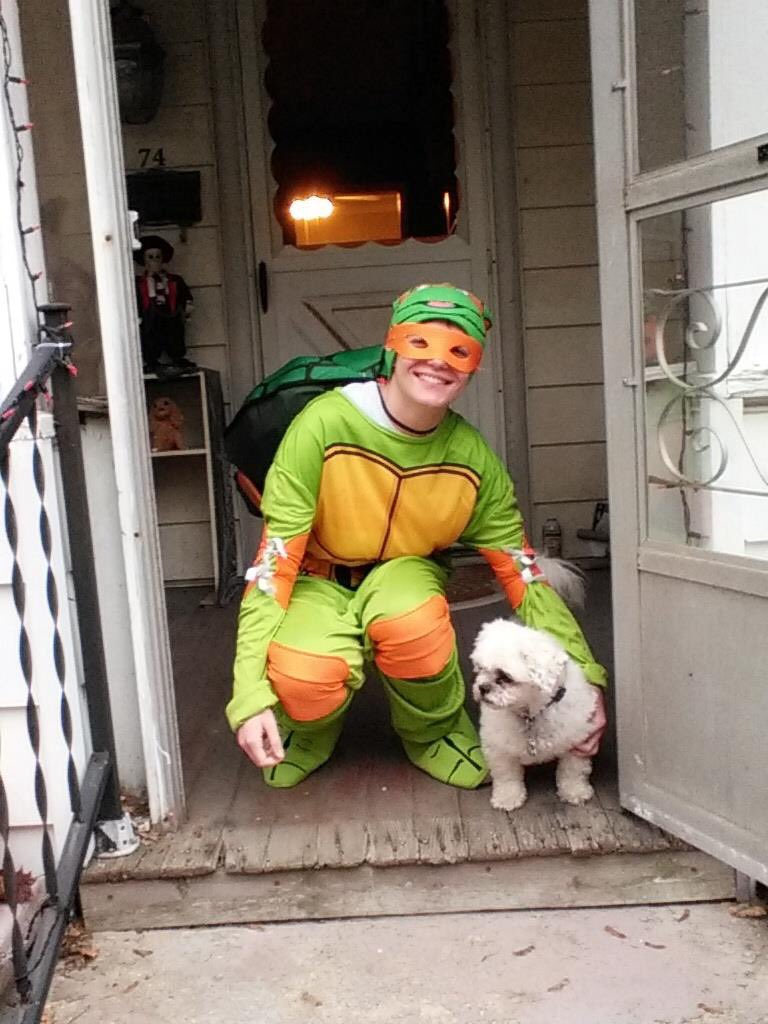 #throwback to me a few years ago! #Mikey #TMNT #Halloween