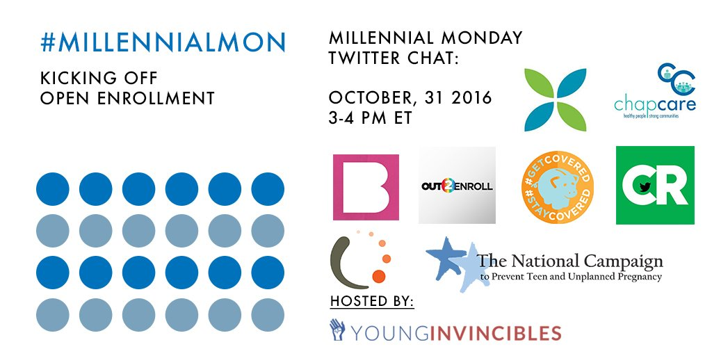 Welcome to #MillennialMon! Today's topic: Open Enrollment! https://t.co/zSirCtBC5b