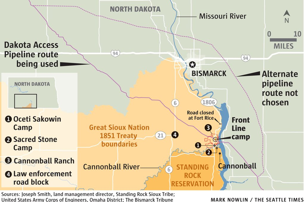 Any route for DAPL will violate the Great Sioux Nation 1851 Treaty boundaries. #NoDAPL https://t.co/ngkYTrZfMc
