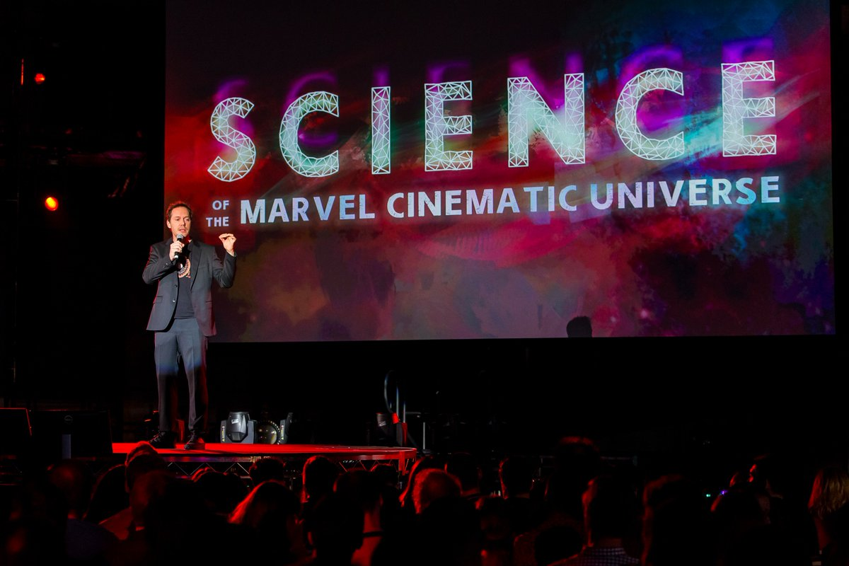 Jon Spaihts at the Science of the MCU