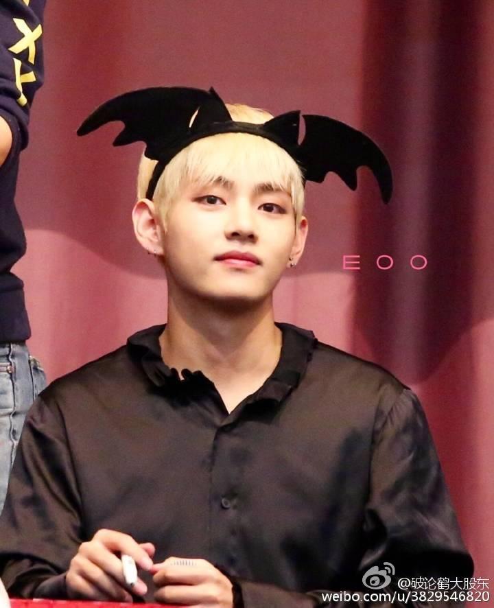 Vantastic_V: [HQ] 161029 Jongro Fansign #방탄소년단 #태형 #태태 #BTS #V BTS_twt ©破论鹤大股东