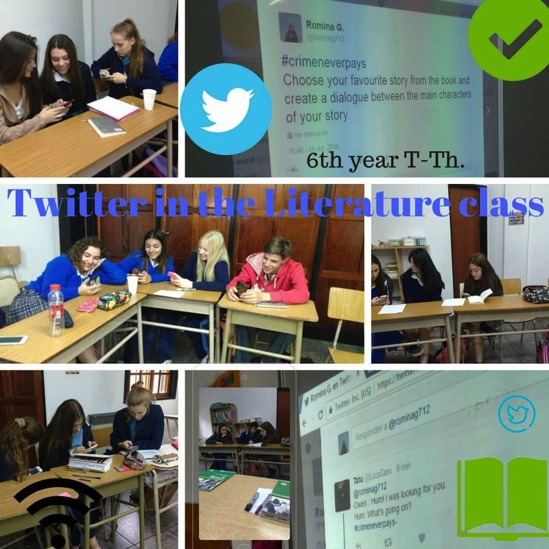 #LetsMakeItMemorable 6th year T-Th creating dialogues in Twitter. @rominag712 @yorkingles https://t.co/jUKkeEnYQS