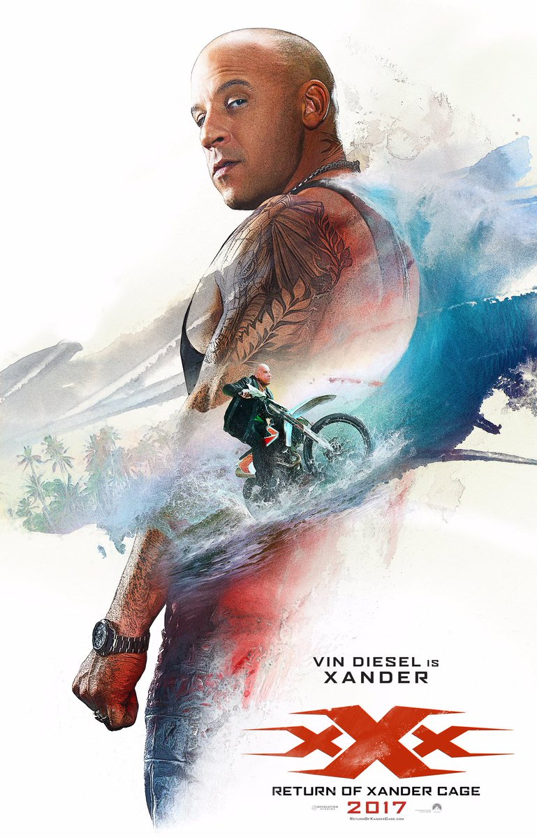 xXx: The Return of Xander Cage Character Posters Revealed 2