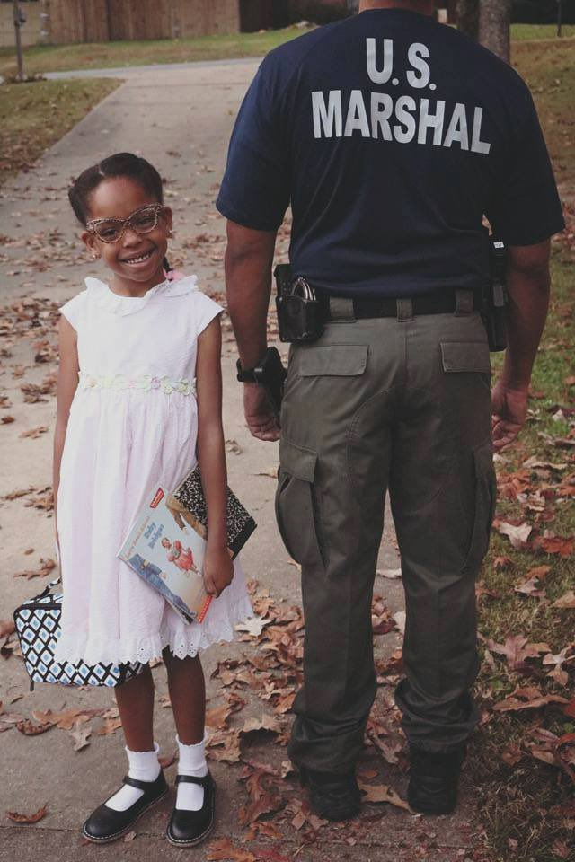 Ruby Bridges Look A Mini Ruby Bridges Pictured With Her