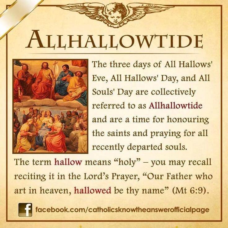 allhallowtide hashtag on Twitter