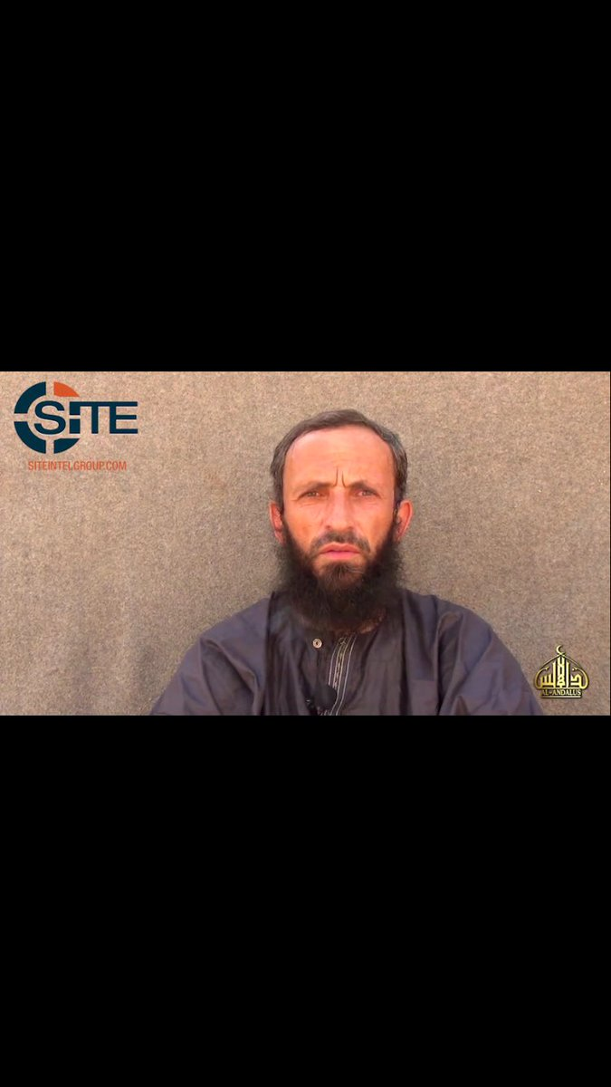 1. A video of the Romanian seized in the Sahel months ago has just been released by al-Andalus, al-Qaeda in the Islamic Maghreb's media arm
