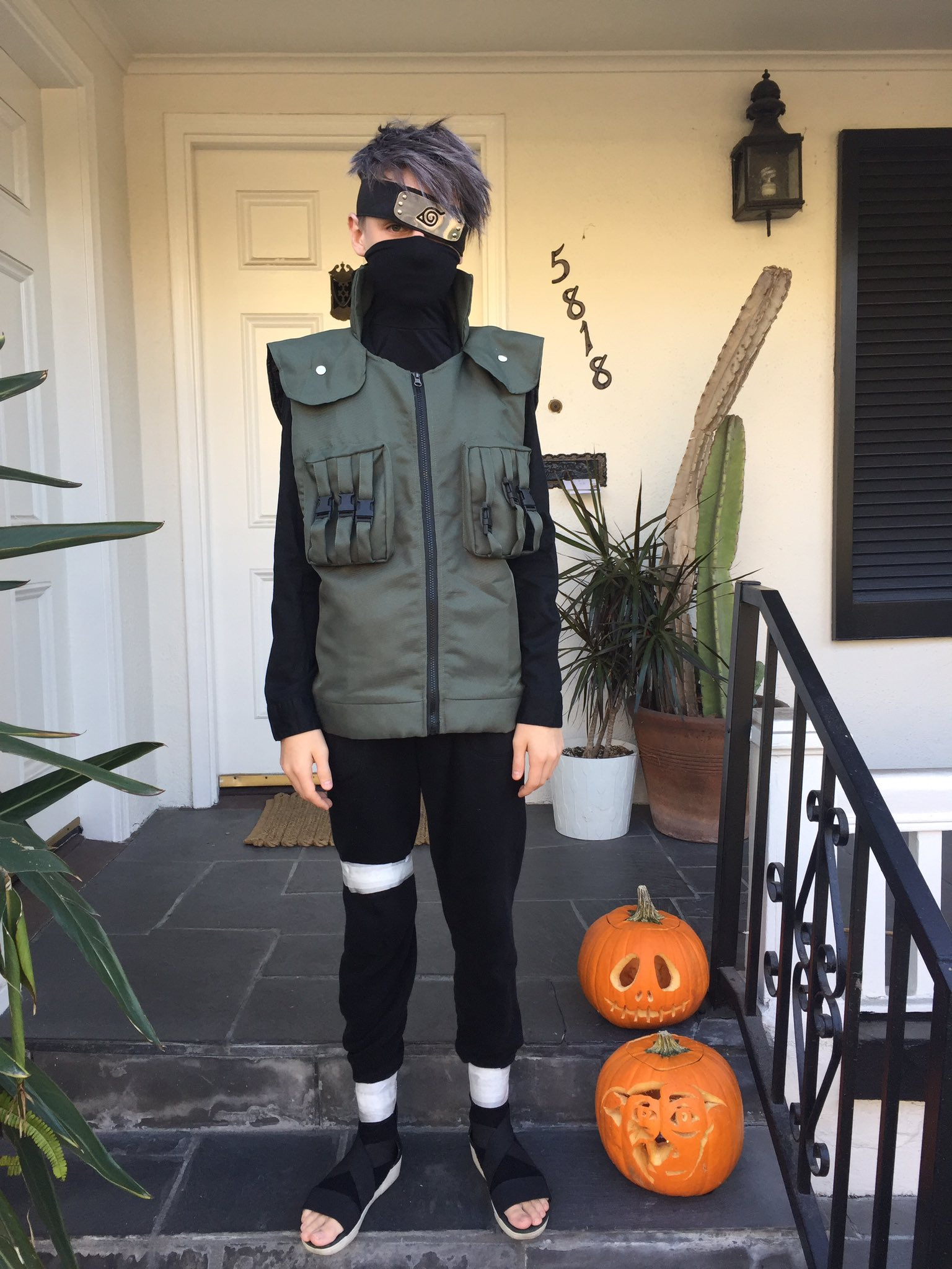 jaeden lieberher on twitter quothappy halloween from kakashi