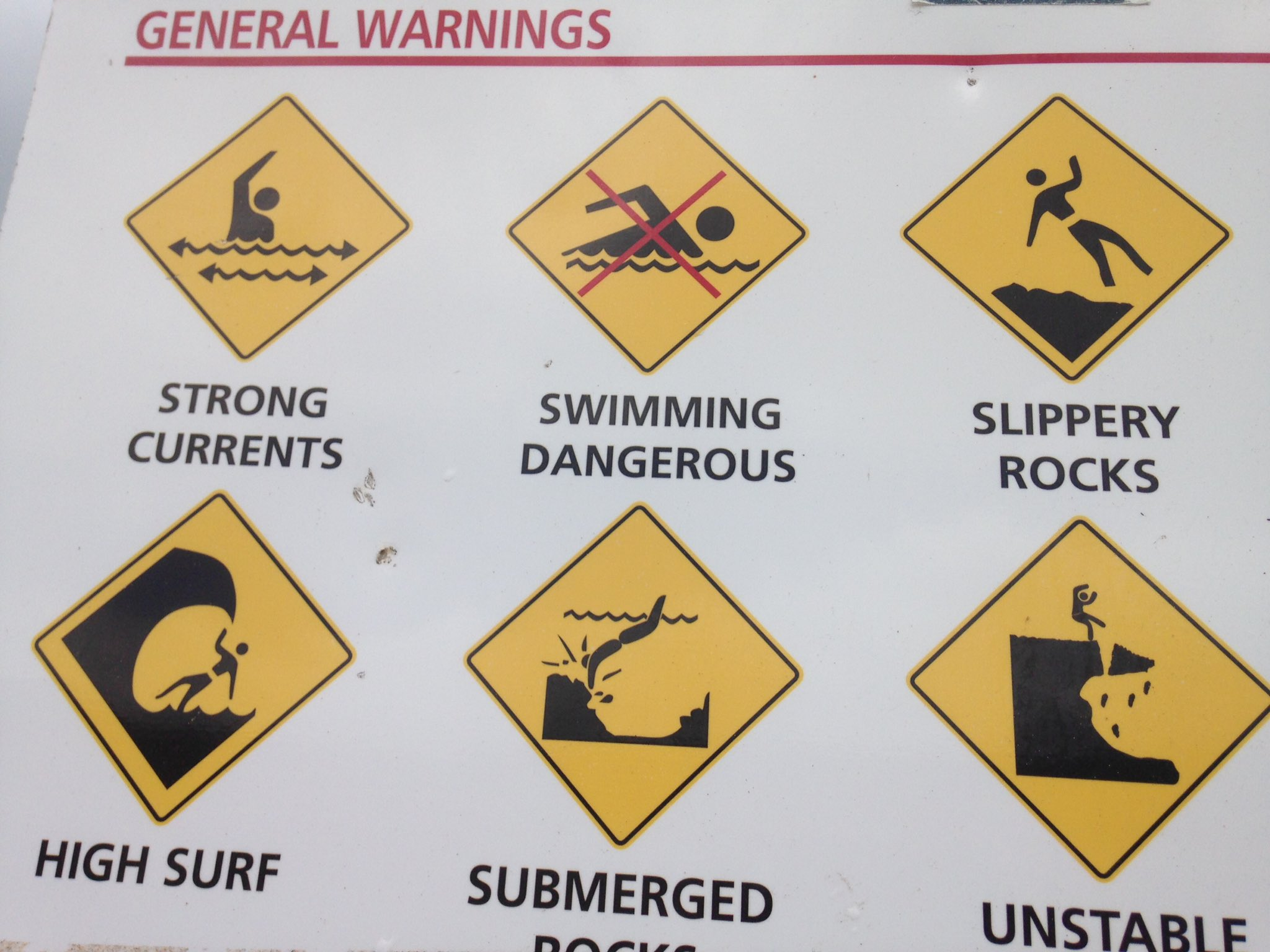 One must always stay alert in Australia, though. Things we don't think twice about doing in other countries can be dangerous here https://t.co/oPLi7kgWZ2