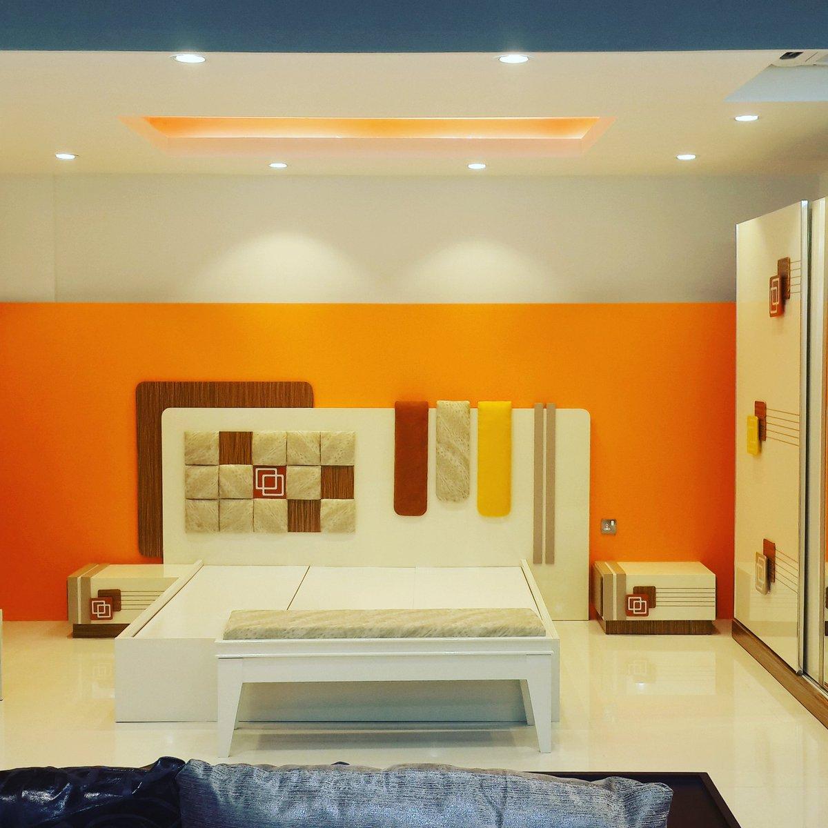 Bedroom Design .. Oman Interiors@design Firm : Home Mart International ..  Designer : Mustafa Kantawalapic.twitter.com/YvjQR57cWB
