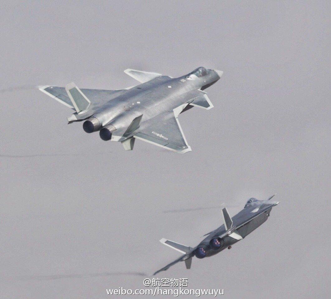 المقاتلة الصينية J-20 Mighty Dragon المولود غير الشرعي - صفحة 2 CwJbUbaUAAATR4Q