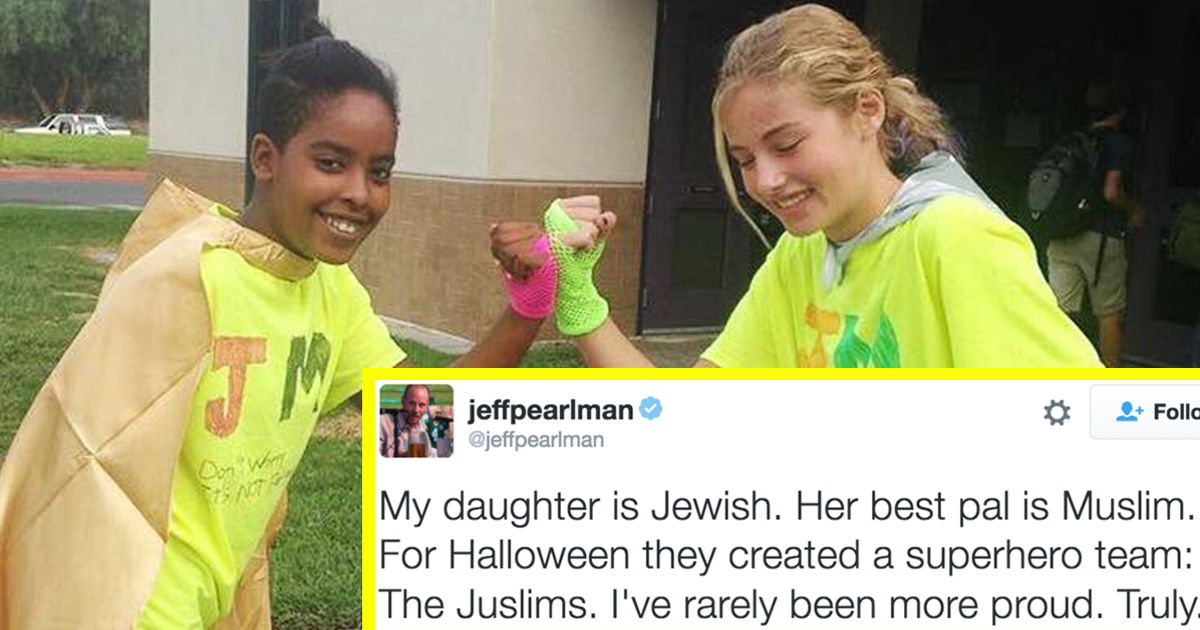 These Jewish and Muslim BFFs had the most brilliant Halloween costumes //  sc 1 st  Scoopnest.com & These jewish and muslim bffs had the most brilliant halloween ...