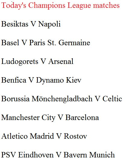 Today's champions league fixtures via @gameyetu - scoopnest com