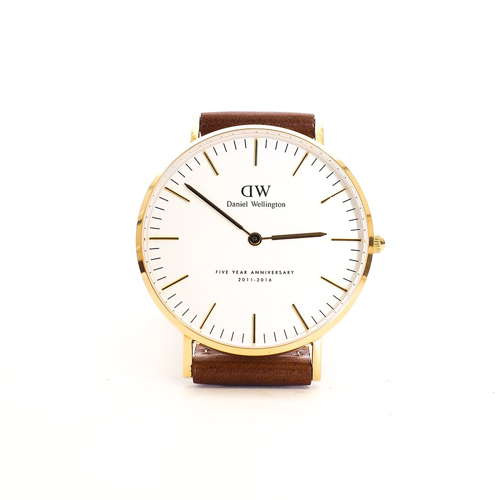 daniel wellington on we re celebrating our year daniel wellington on we re celebrating our 5 year anniversary a limited edition 18 karat gold watch want to win one