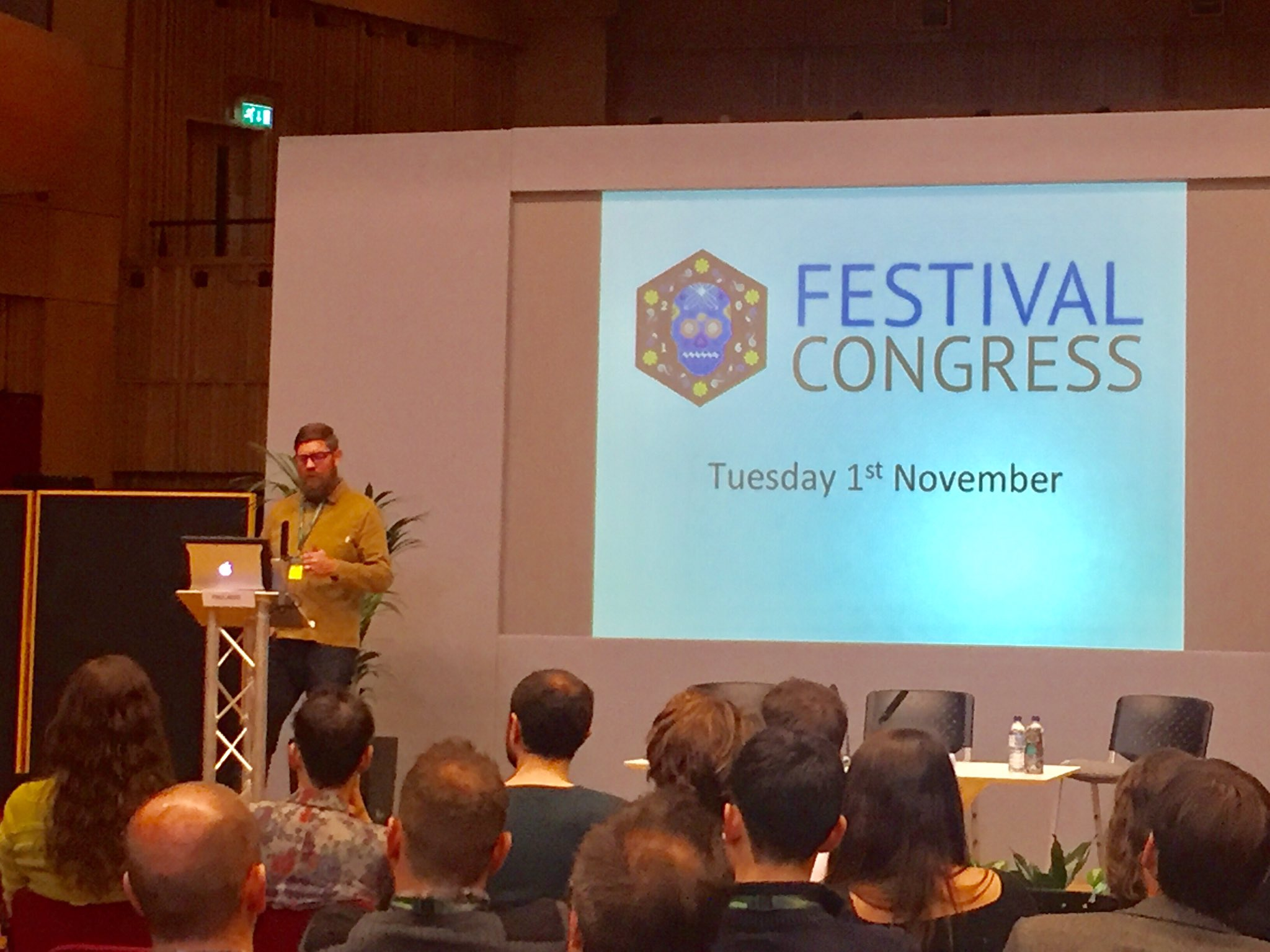 We're in Cardiff for @AIF_UK's @FestCongress today, discussing the issues facing independent festivals. https://t.co/QfFQK8SPqj