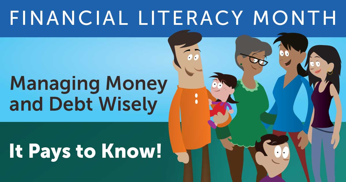 We're kicking off Financial Literacy Month today! Visit https://t.co/LLDTmpffT6 and follow #FLM2016 https://t.co/U46eetTVrI