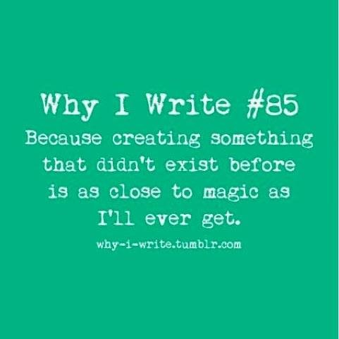 Why do people write stories?
