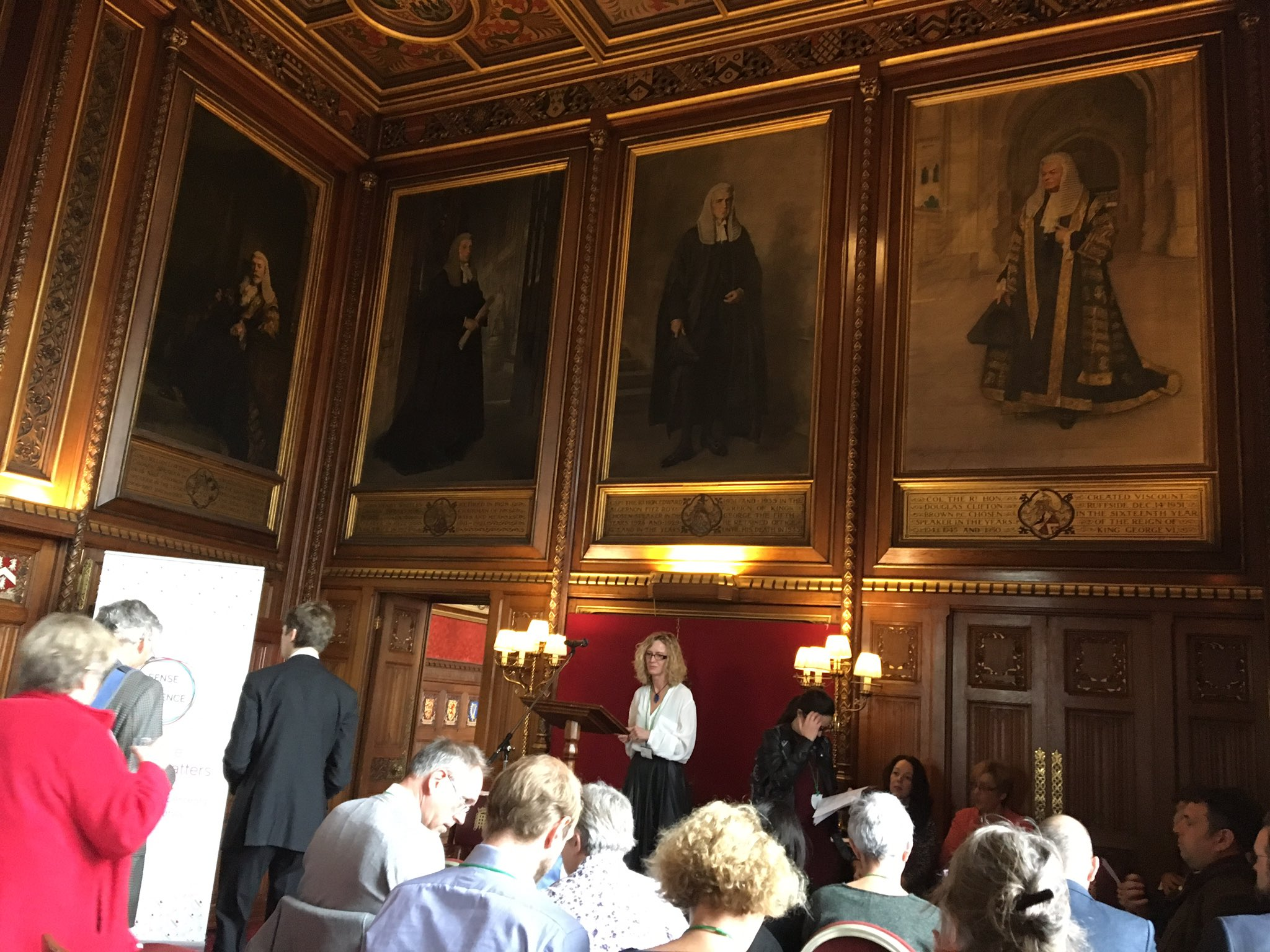 Speakers House filling up for @senseaboutsci event on the importance of evidence https://t.co/5705rzW6Yo