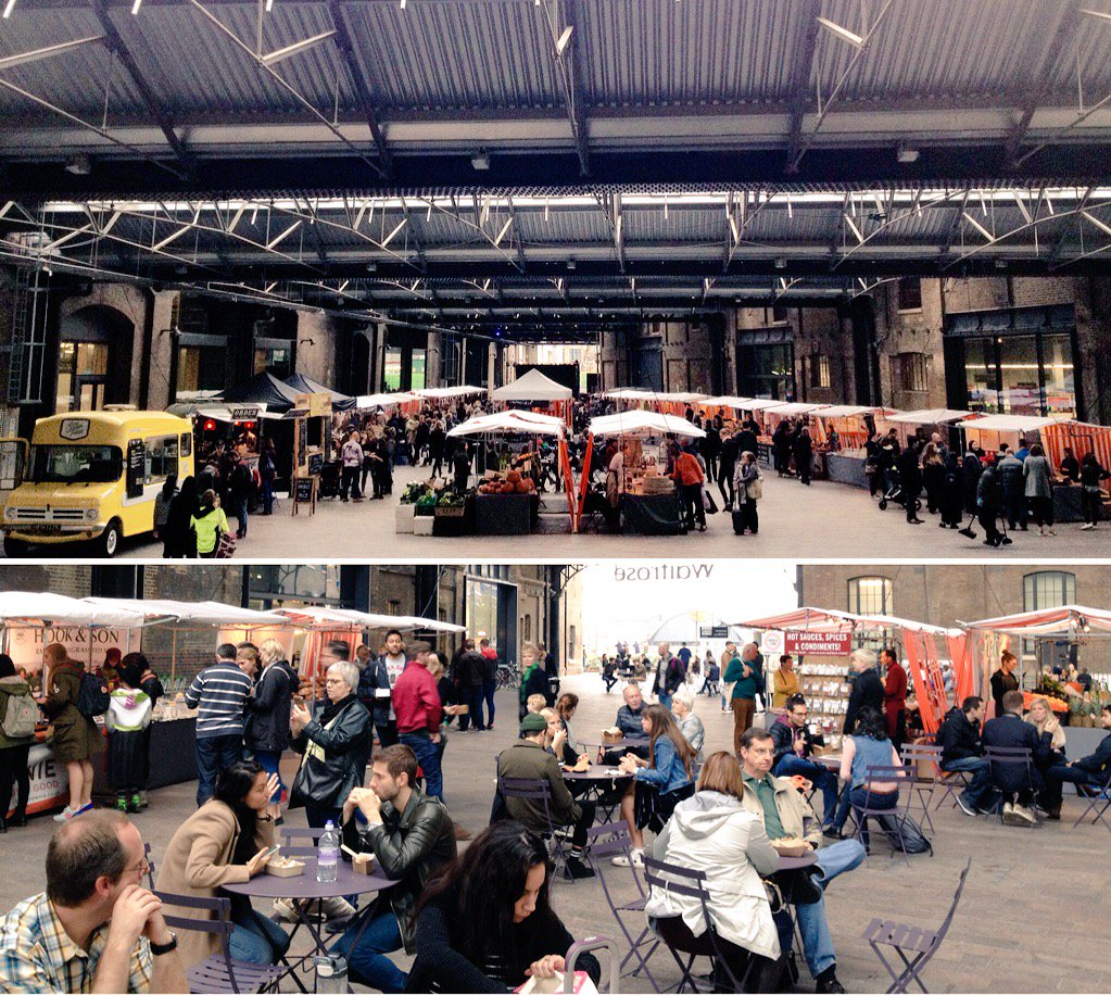 Was a great first #CanopyMarket @kingscrossN1C looking forward to November already! #food #art #music #streetfood https://t.co/bJYbPenCdV