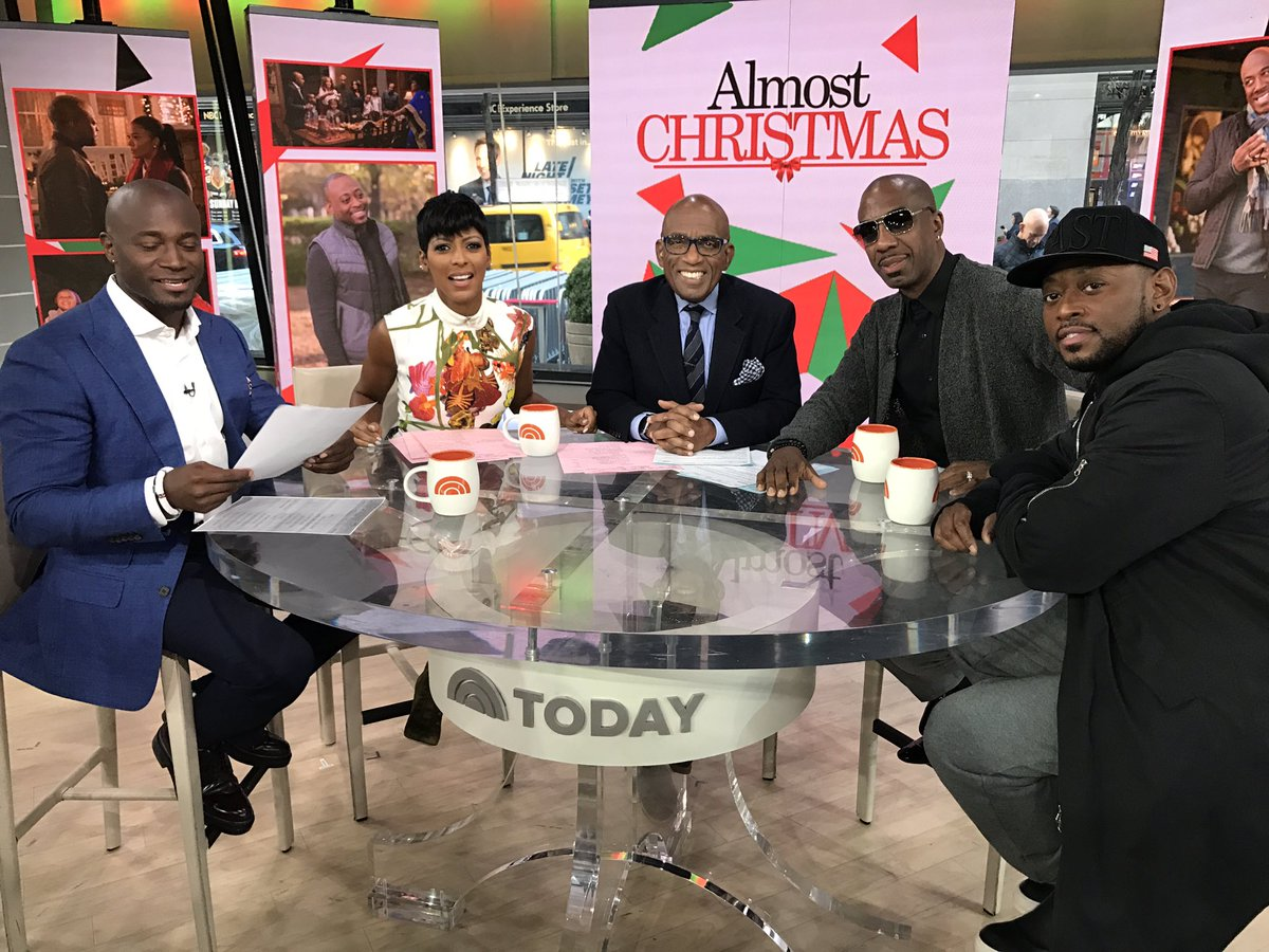 Hey now. This morning. NBC stands for Nuthin' But Color on @TODAYshow https://t.co/DaYjaOIQ4s