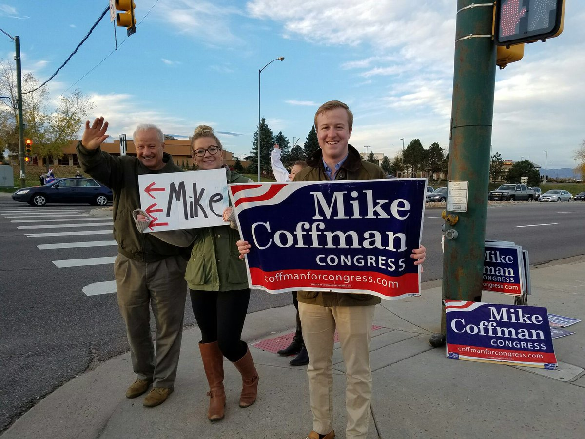 Get out the vote for Mike! #copolitics