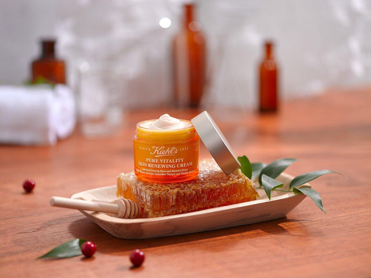 ผลการค้นหารูปภาพสำหรับ kiehl's pure vitality skin renewing cream