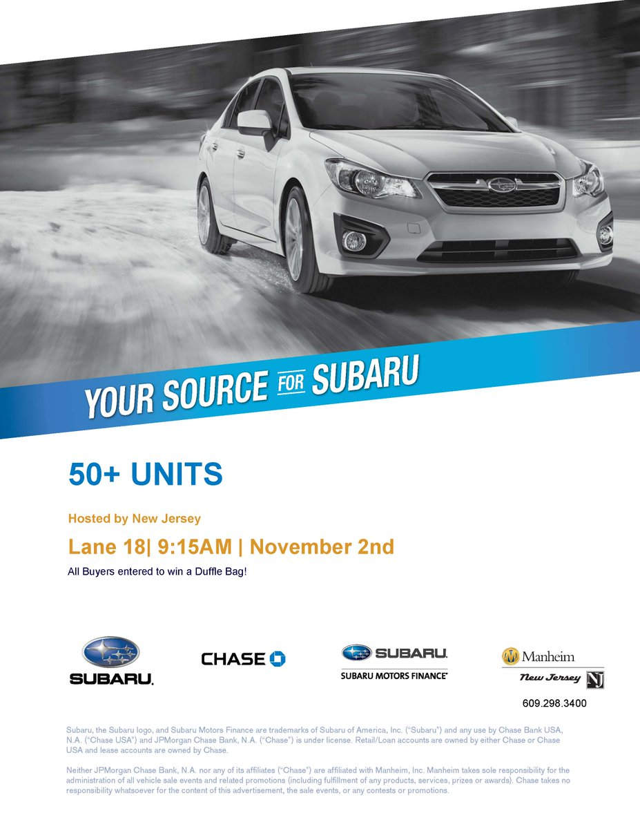 Subaru motors finance com chase for Subaru motors finance c o chase