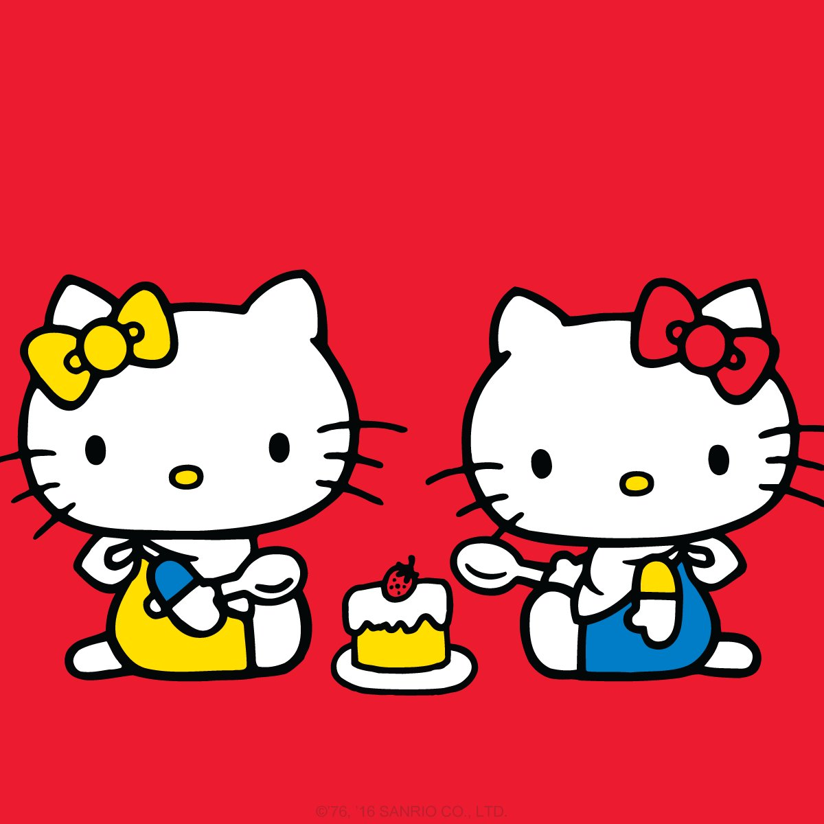 Hello kitty on twitter today is a very special day happybirthday to hellokitty and her twin - Hello kitty hello ...
