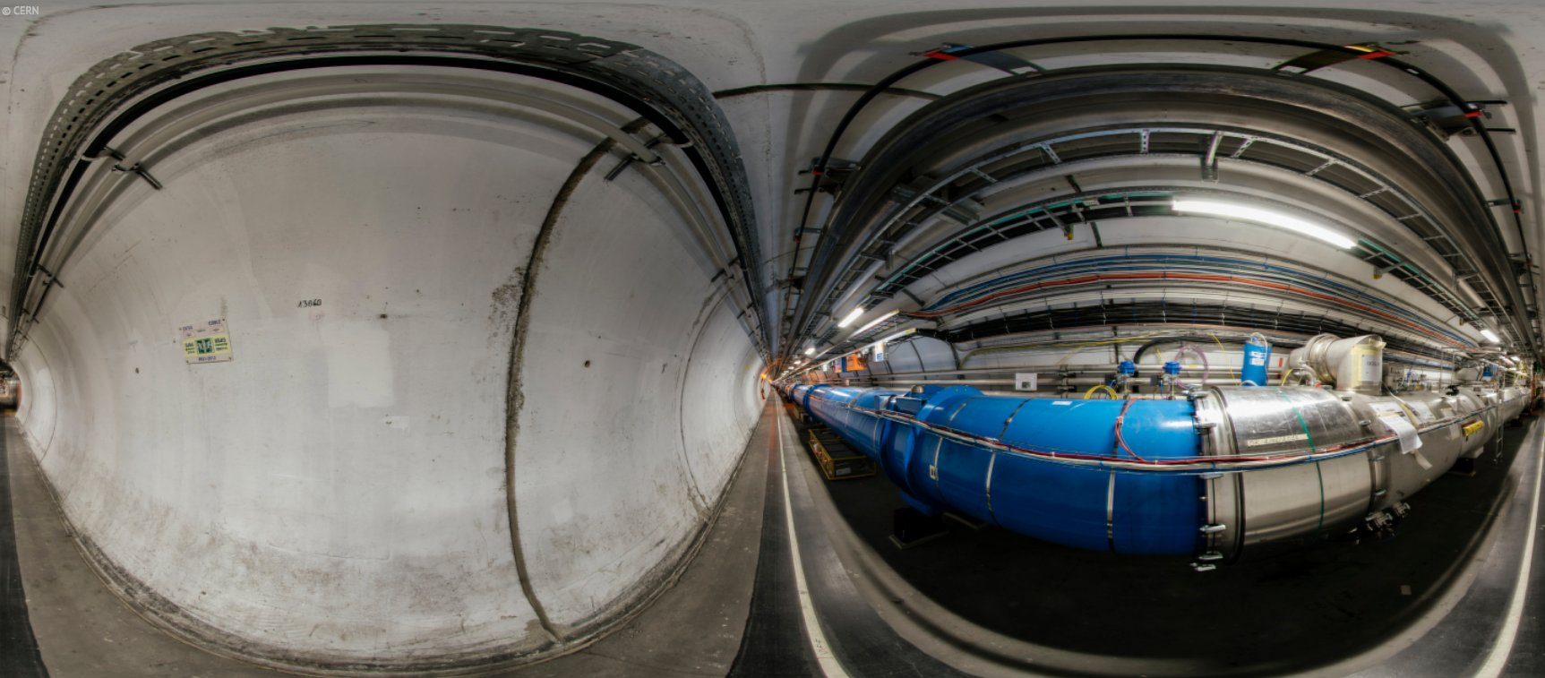large hadron collider report Hey, now, this is some great news, right the trouble-plagued large hadron collider looks to be doing a bang up job in.