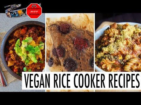3 RICE COOKER // HEALTHY, EASY & VEGAN - ://