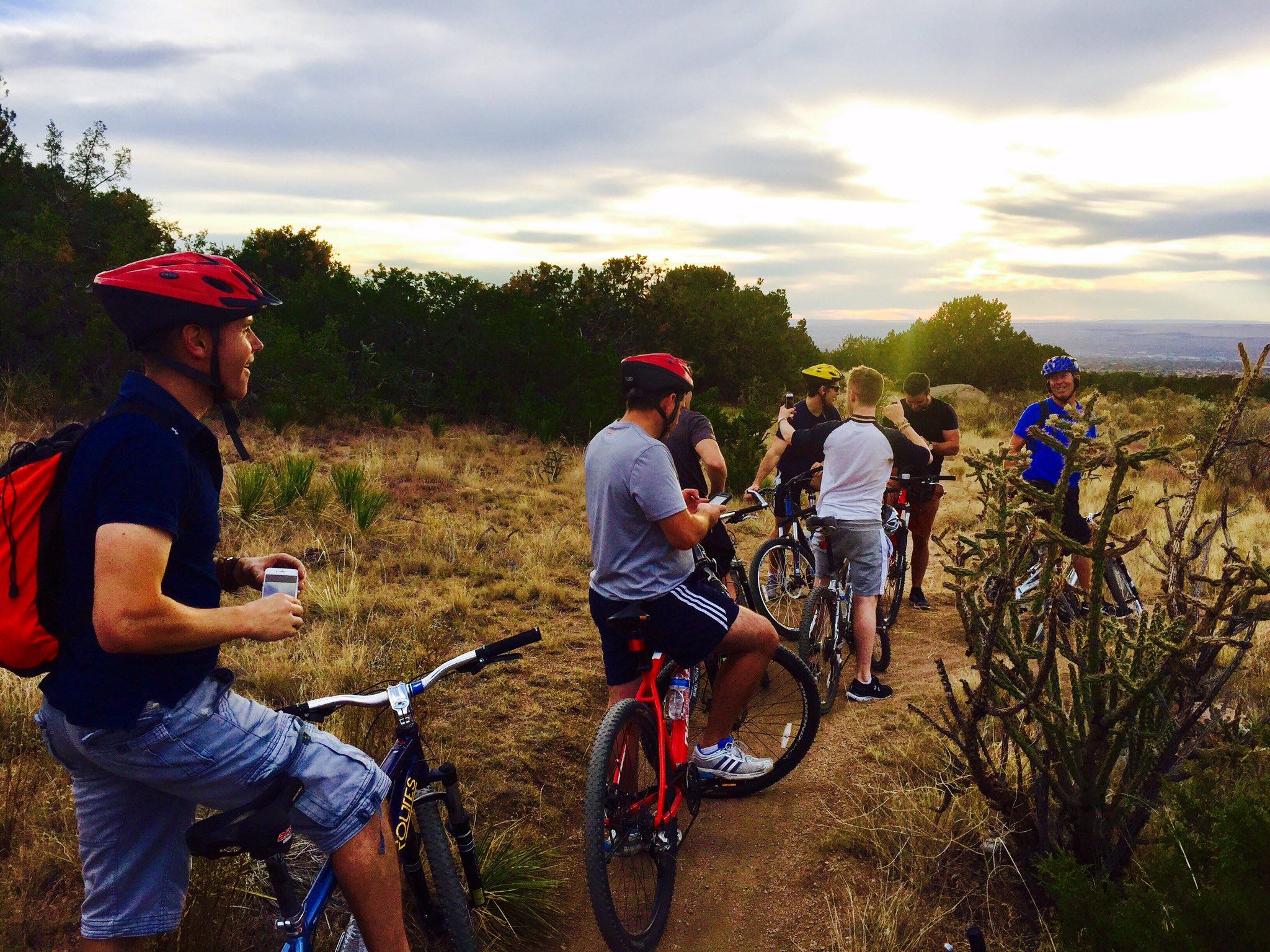 "Neil Byrne on Twitter: ""Yesterday's bike ride around Elena ..."