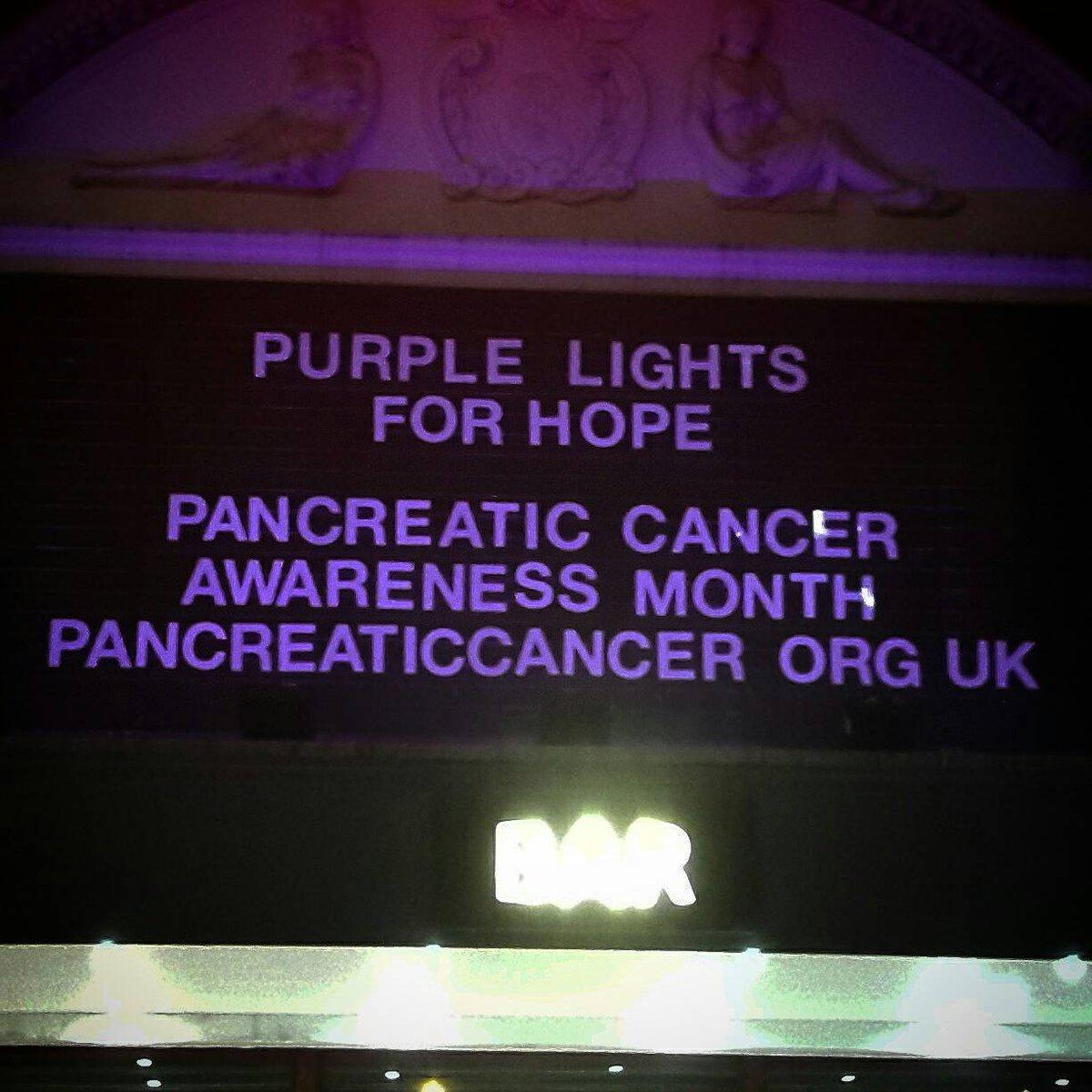 We've gone Purple to raise money for Pancreatic Cancer. Visit: https://t.co/8fzBkE5sQQ for more details. https://t.co/tvgp6y94Ij