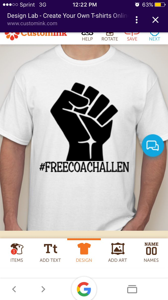 Design your own t-shirt and save it - The Official Freecoachallen Tshirts Comin Atchu In Help Orange Come Back Light Orange And Freedom White Pic Twitter Com Eqh82bq0u0