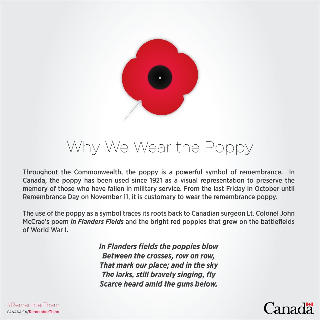 Canada In Sf On Twitter With Remembrance Day Upon Us We