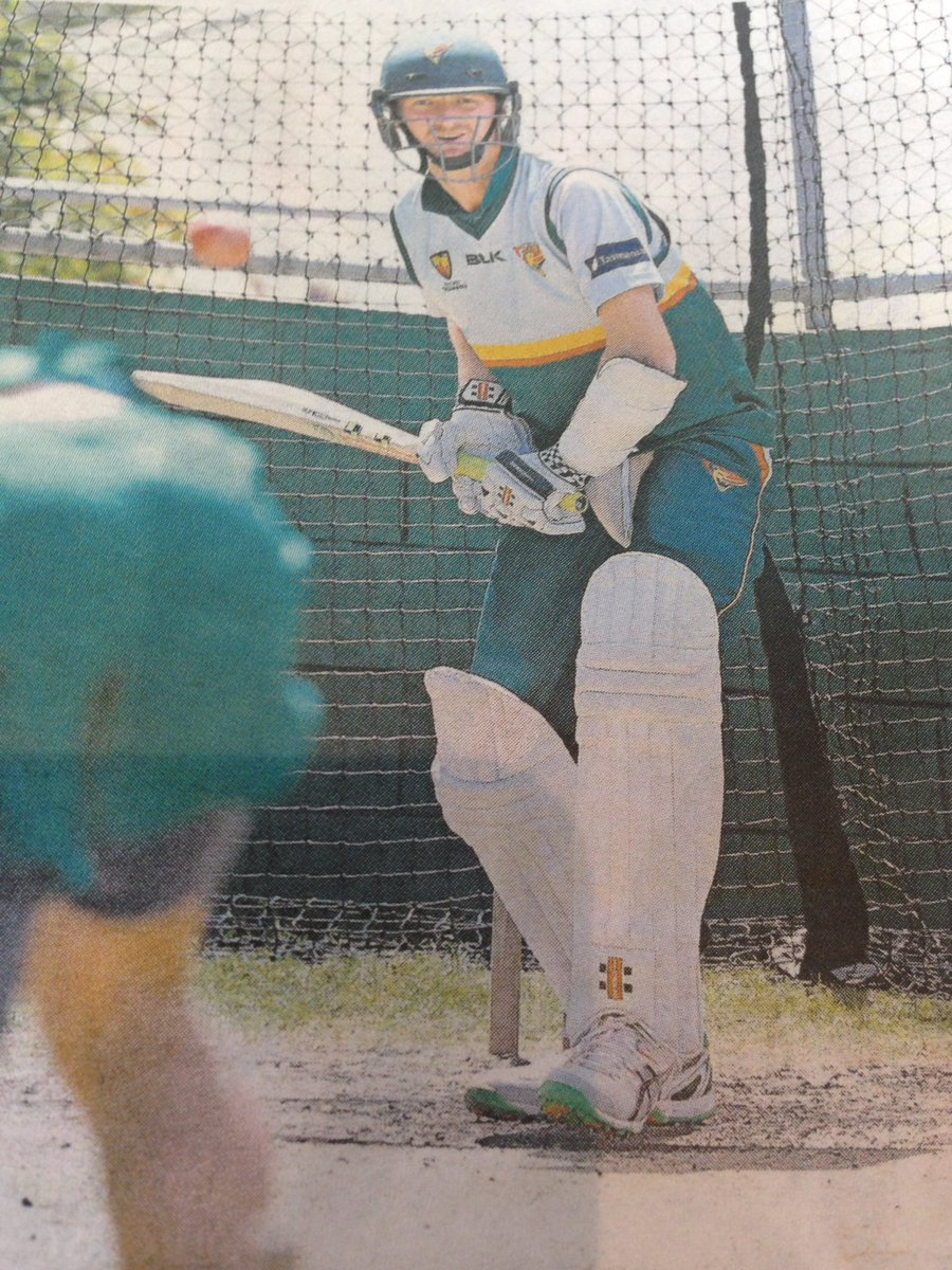 Great to see @jbird431 working hard on his batting... https://t.co/4NRdV8rsy7
