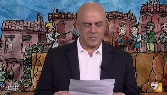 VIDEO Maurizio Crozza a DiMartedì: