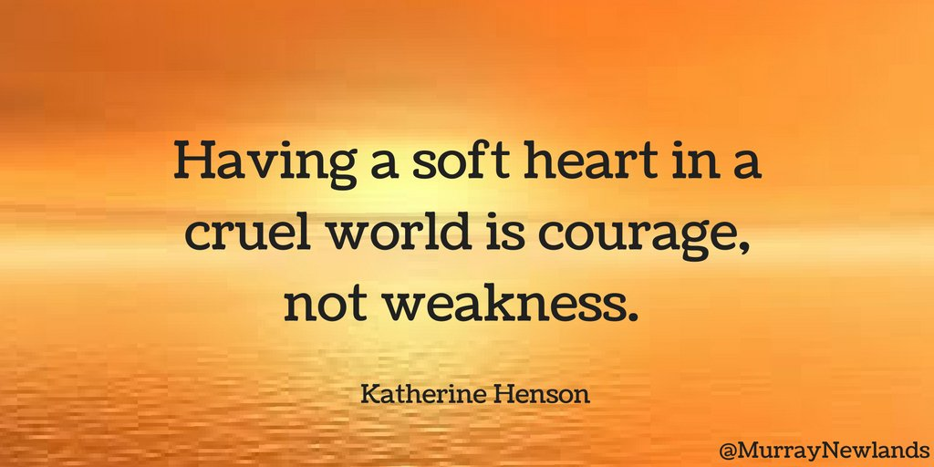 Having A Soft Heart In This Cruel World Is Courage Not: Angela Peña Ulrich (@angela_ulrich)