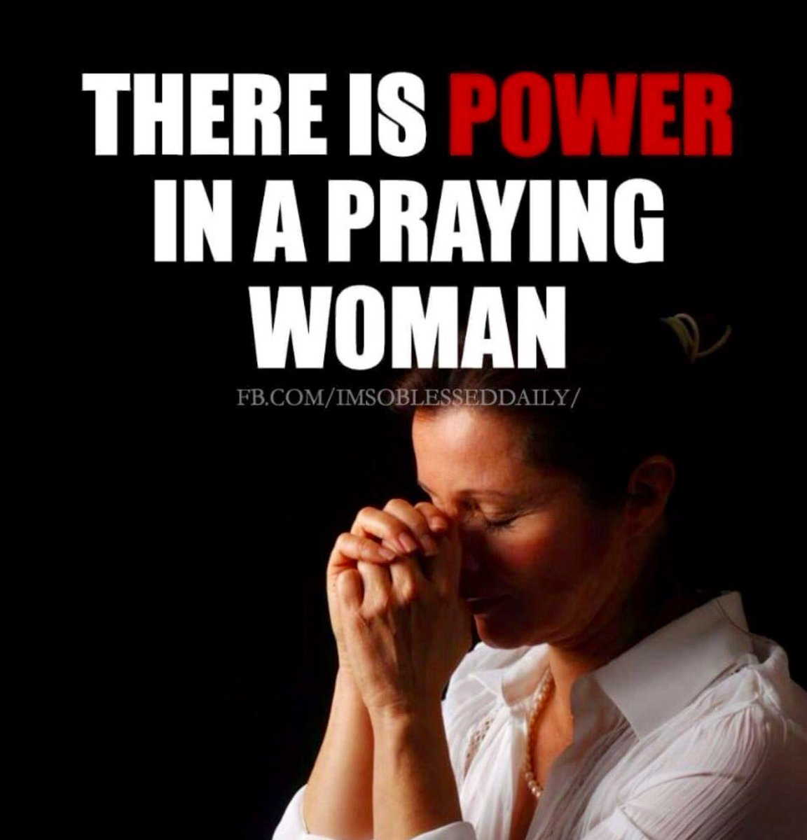 "Wright Thurston On Twitter: ""There Is Power In A Praying"