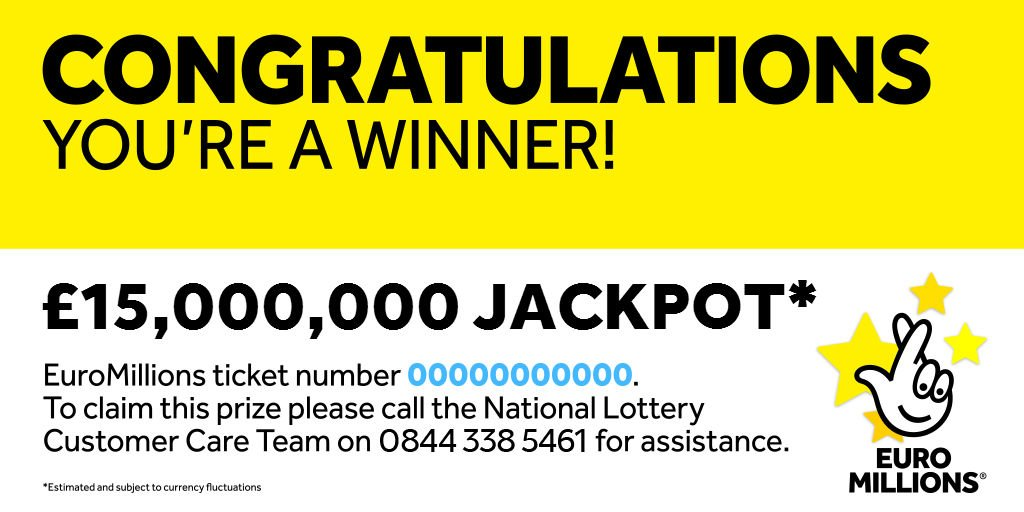 the lottery message