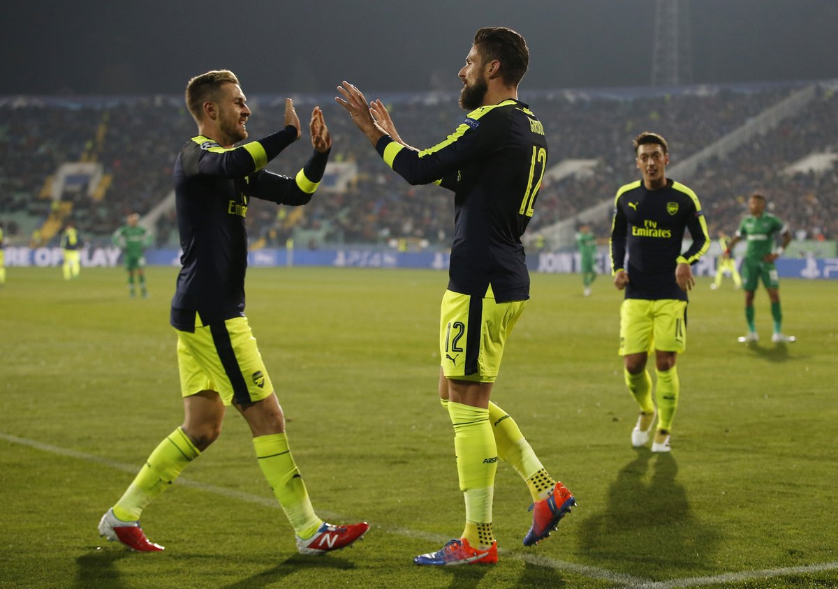 Video: Ludogorets vs Arsenal