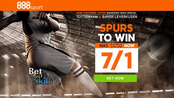 Champions League price boosts at 888sport