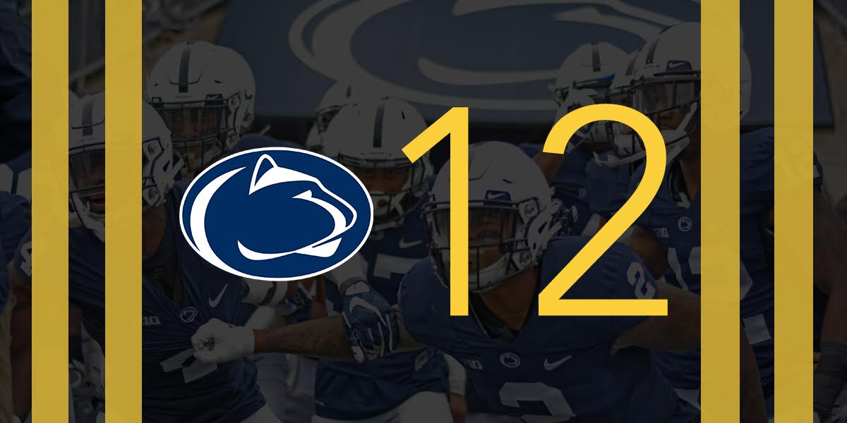 The Daily Collegian On Twitter Just In No 12 Penn State Football