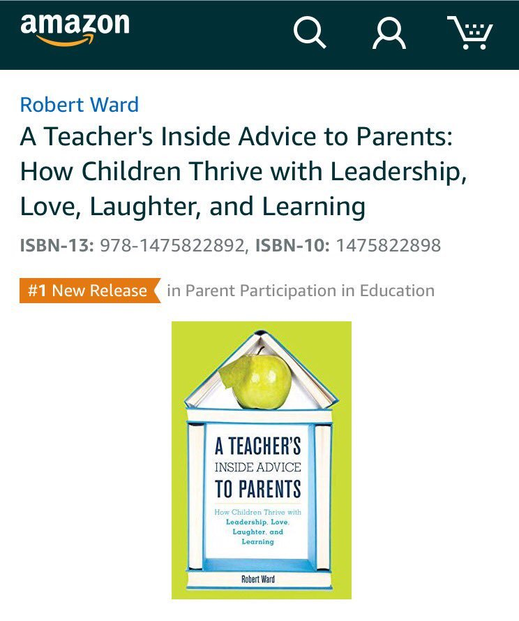 #1 new release in #Parent Participation in Education on Amazon! The new book that joins parent & teachers as allies: https://t.co/WDZaR6oqXI https://t.co/5I95XsktvN